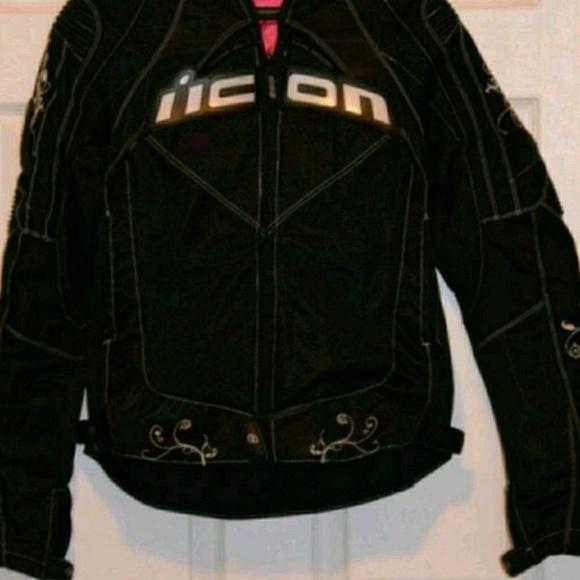 ICON WOMENS MERC SHAGUAR Textile Motorcycle Jacket SHIPS FREE